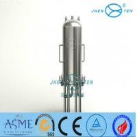 Lenticular Disk Filter Stainless Fermentation Tank for Beer Water Beverage , Easy To Clean Manufactures