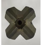Tread button bits S1-64mm T38 solid carbide drill bits/Cross Bits/drill with