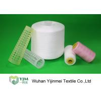 100% TFO Polyester Sewing Thread Dyeing Low Shrink And No Broken End Manufactures