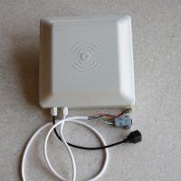 Compact Low Power Uhf Rfid Smart Card Reader RS232 TCP / IP Interface 1-5M Distance Manufactures