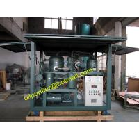 Newly Transformer Oil Purifier Systems,Oil Dehydration Plant with gas strut cover Manufactures