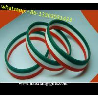 Jewelry type Main Material and Bangles silicone Bracelets colorful logo Manufactures