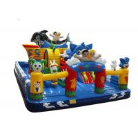 Easy Storage Inflatable Fun City Giant Inflatable Jumping Castle For Amusement Park Manufactures