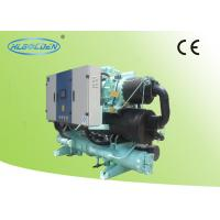 China OEM / ODM 241KW Screw Type Water Cooling Chiller Plastic with Hanbell Compressor on sale