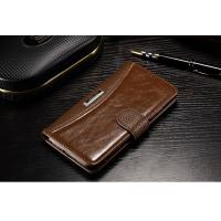 Xiaomi Mi5 Cell Phone Leather Wallet Case Vintage Anti - Dirt For Drop Protection Manufactures