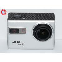 Silver Real Ultra HD 4K Sports Action Camera Wireless With Sony 12mp CMOS