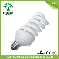 Intelligent Power Saver Full Spiral T4 24w Tri-band 10000 hour Energy Saving Light Bulbs Manufactures