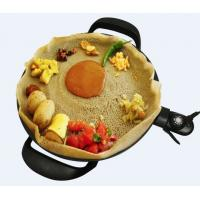 China 40cm Household Electric Grill With Dish Washer Safe Cast Aluminum Plate on sale