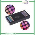 Cardboard Empty Foldable Eyeshadow Cosmetic Box Packaging Handmade Custom Manufactures
