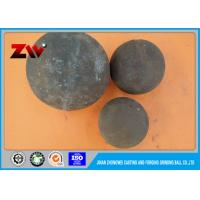 High chrome hot rolling steel balls alloy casting grinding ball for mining Manufactures