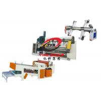 2 Ply Corrugated Carton Box Machine Semi Auto Single Facer Line Without Stacker Manufactures