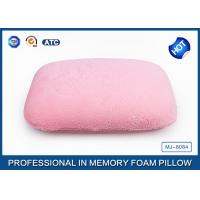 Portable High Density Memory Foam Sleep Pillow For Car / Air / Home Decorative Manufactures