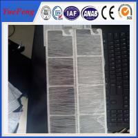 Big Diameter Extruded Aluminum Profile with mirror polish surface used in trailer Manufactures