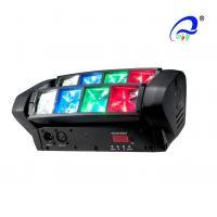 LED Graphic Display Mini Beam Spider Moving Head Light Adjustable Speed Strobe Manufactures
