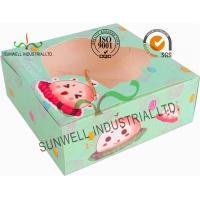 Disposable Cardboard Food Packaging Boxes , Personalised Cardboard Takeaway Boxes Manufactures