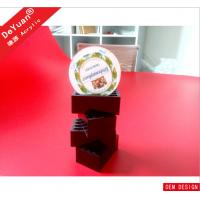 5mm Thickness Black Acrylic Holder Stand Elegant Long Life Span 10 * 7cm Manufactures