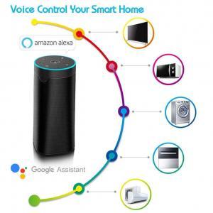 Wireless Wireless Smart Speaker , ABS And Metal Alloy Alexa Wireless Speaker Manufactures