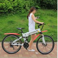 High Speed 26 Hummer Folding Electric Mountain Bike 3-5 Hrs Charge Time Manufactures