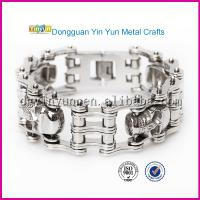 Hot New Products on China Market Stainless Steel Motorcycle Bracelet Manufactures