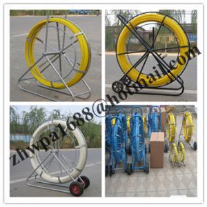 China Material Fiberglass duct rodder,Length 50m 100m 200m duct rodder on sale