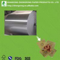 chocolate wrapping paper alu foil paper Manufactures
