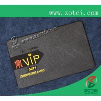 black metal card,80*50*0.36mm Manufactures
