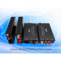 Quality 4 port fast light compact SDI video over fiber optic system for sale