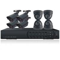 7 Series 8ch H.264 DVR Camera Kit With Metal Box Enclosure, Weatherproof Ccd Dome Camera Kits, 24 Ir Leds Manufactures
