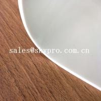 Transparent Silicone Rubber Sheet Roll Heat Resistant White Silicone Rubber Mat Roll Manufactures