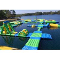 Giant Commercial Inflatable Water Parks Summer Water Toys Game For Lake Manufactures