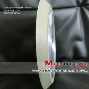 China 1V1 resin bond diamond grinding wheel for glass on sale