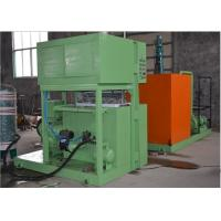 2 Molds Paper Pulp Egg Tray Making Machine Reciprocating Type Easy Operate Manufactures