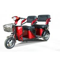 Electric Open Passenger Three Wheeler Auto Rickshaw For Adults Or Old Person Manufactures