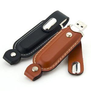 China 1GB 2GB 4GB 8GB 32GB Leather USB Flash Drive Memory Stick on sale