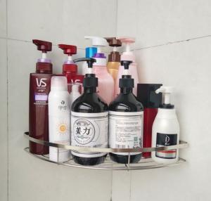 Efficient Space Saving Bathroom Storage Rack Fast Set - Up No Visible Connectors Manufactures