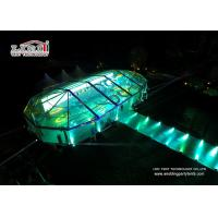 Transparent Multiside Outdoor Event Tents Clear Span Flame Retardant Manufactures