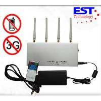 Professional Auditoriums Cell Phone Signal Jammer With Jamming Range 15m Manufactures