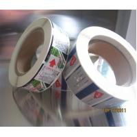 Quality Custom heat transfer OEM adhesive label color label with Self-adhesive for sale