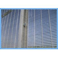Security Wire Mesh Fence Panels , Galvanized Welded Wire Mesh Thick Zinc Coating Manufactures