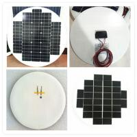 China High Efficiency Round Solar Panels , Rollable Solar PanelBear Wind Pressure on sale