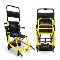 Yellow Stair Climbing Wheelchair Ambulance Electric Stair Chair Stretcher Manufactures