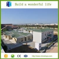 Earthquake proof house prefabricated steel house design in South Africa Manufactures