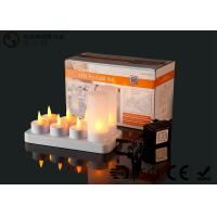 4set / 6set / 8set / 12set Rechargeable Tea Lights With Remote Control Manufactures