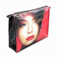 PVC Cosmetic Bag with Printing on Front and Back Manufactures
