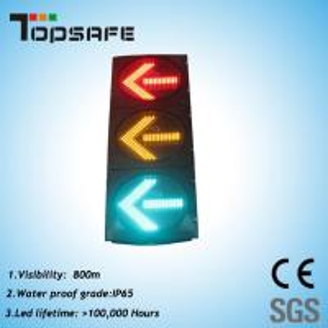 High Luminance LED Arrow Signal Light (TP-FX400-3-403-9) Manufactures
