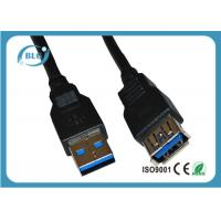 China Male To Female Computer Extension Cables For External Hard Drives USB 2.0 on sale