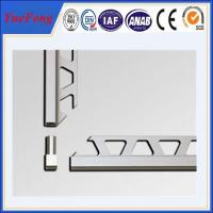 OEM ceramic tile corner trim supplier, brushed aluminium trim profiles factory Manufactures