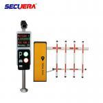 Car Parking System Solutions Turnstile Barrier Gate With Car Camera / Parking Sensor Manufactures