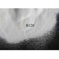 China White Clean Ceramic Shot Peening  B120 Zirconia Beads For Automotive Components on sale