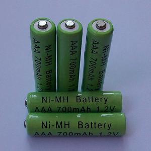 China ni-mh AAA 700mAh 1.2V Rc Battery on sale
